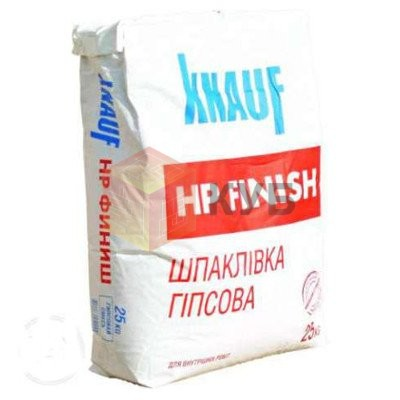 Шпаклевка гипсовая KNAUF HP Finish (Кнауф Финиш) (5 кг) карт. 2