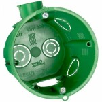 Коробка монтажная (подрозетник) Schneider Electric IMT35101 для твердых стен 65x60 мм