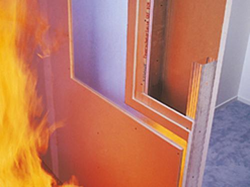 Вогнестійкий гіпсокартон Фото 3
